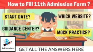 Yash Career Guru Filling 11th online admission form